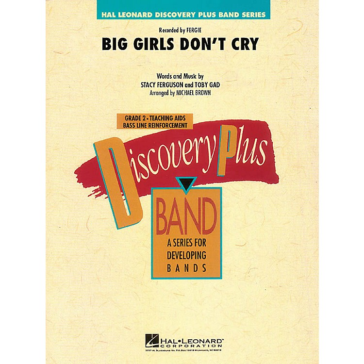 Hal LeonardBig Girls Don't Cry - Discovery Plus Band Level 2 arranged by Michael Brown