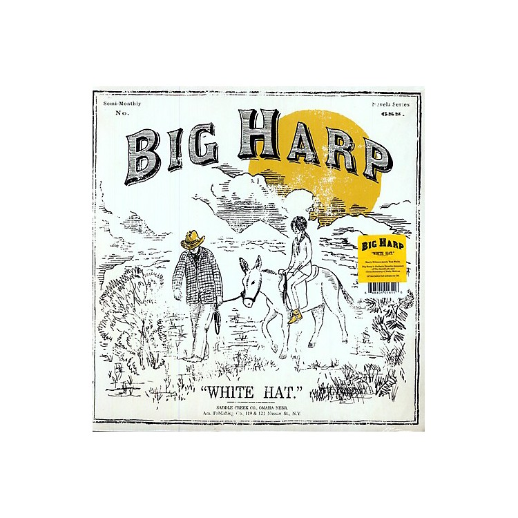 Alliance Big Harp - White Hat