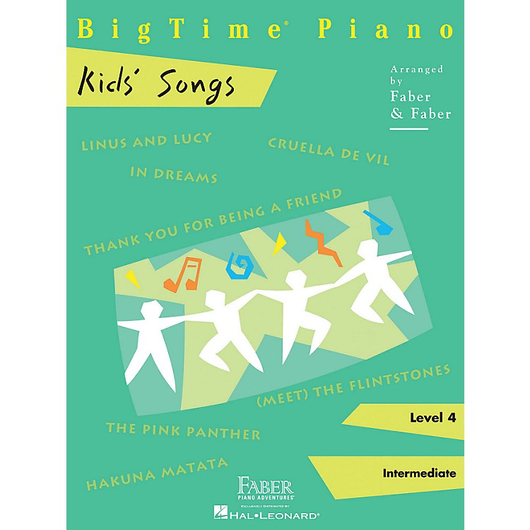 Faber Piano AdventuresBigTime Piano Kids' Songs Faber Piano Adventures Series