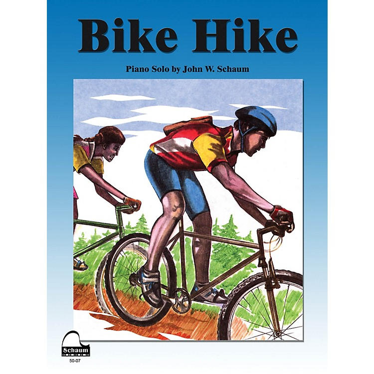 SCHAUMBike Hike Educational Piano Series Softcover