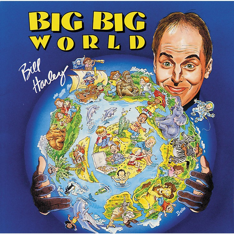 Hal Leonard Bill Harley CD Recordings: Sing-Along CD's Big Big World