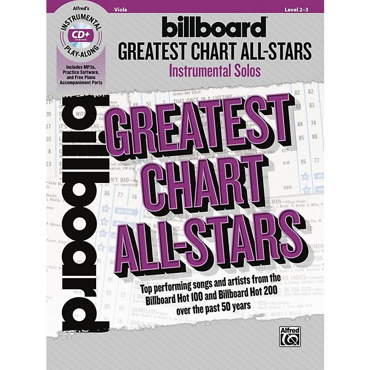 AlfredBillboard Greatest Chart All-Stars Instrumental Solos for Strings Viola Book & CD Level 2-3