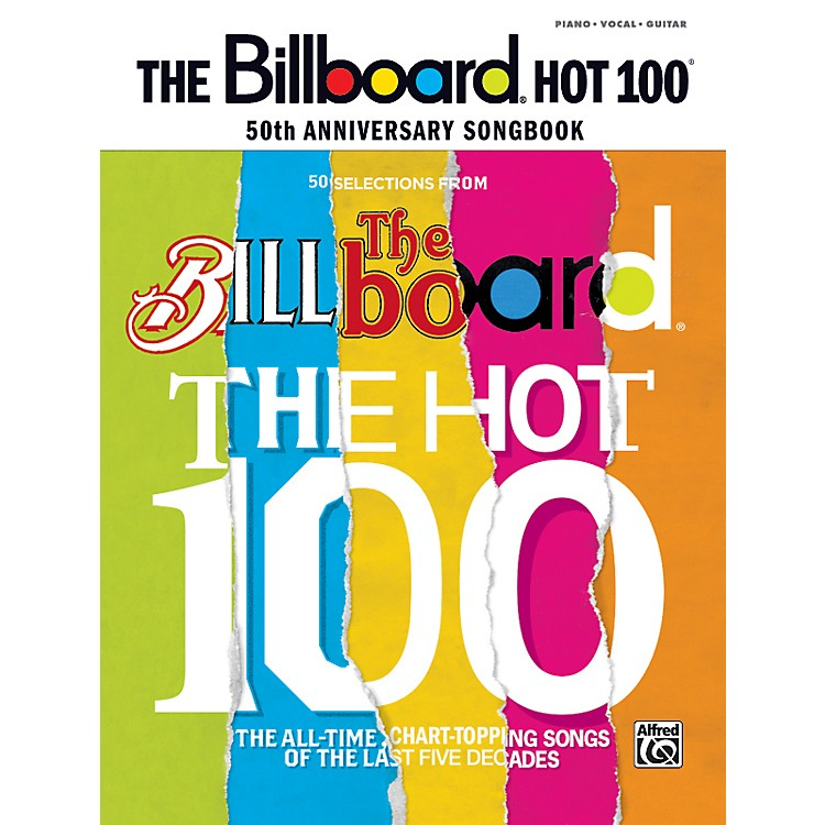 Alfred Billboard Magazine Hot 100 50th Anniversary Songbook PVC