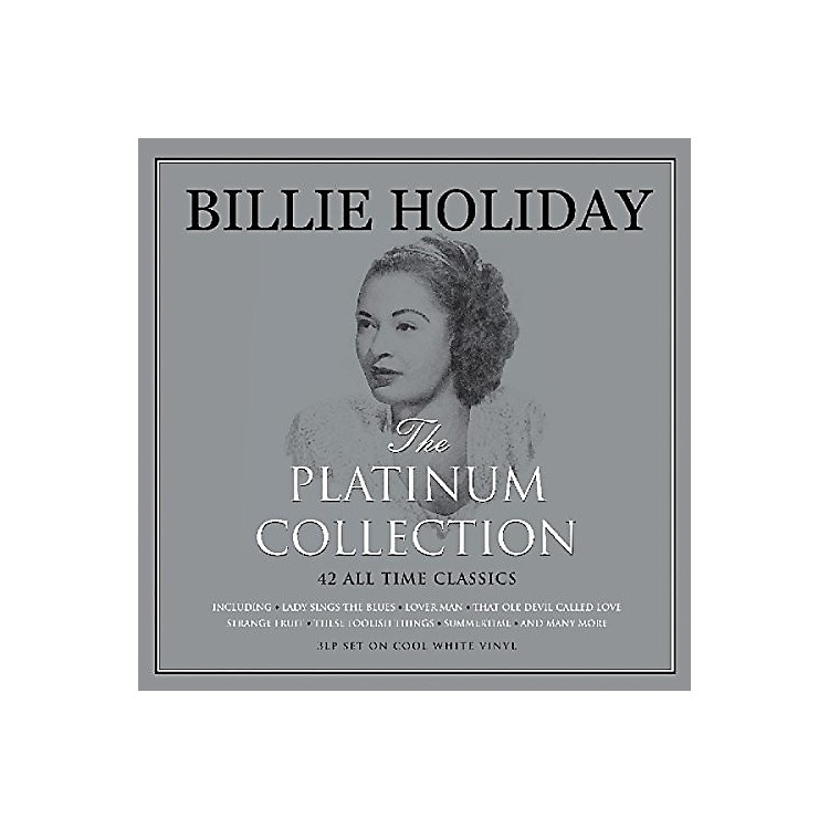 AllianceBillie Holiday - Platinum Collection (White Vinyl)