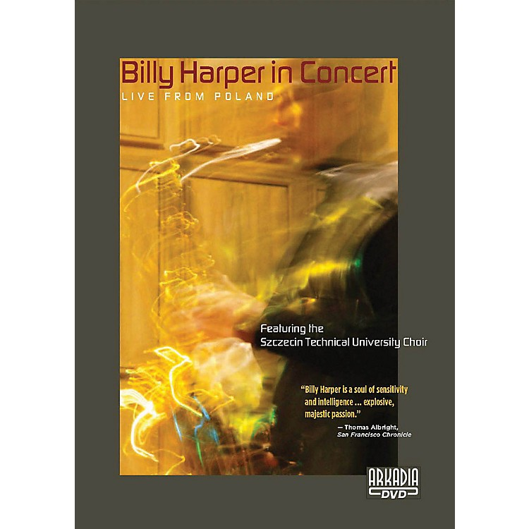 Hal Leonard Billy Harper in Concert - Live from Poland DVD Series DVD Performed by Billy Harper