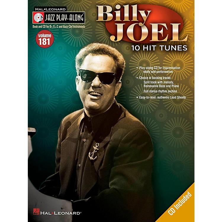 Hal LeonardBilly Joel - Jazz Play-Along Volume 181 (Book/CD)