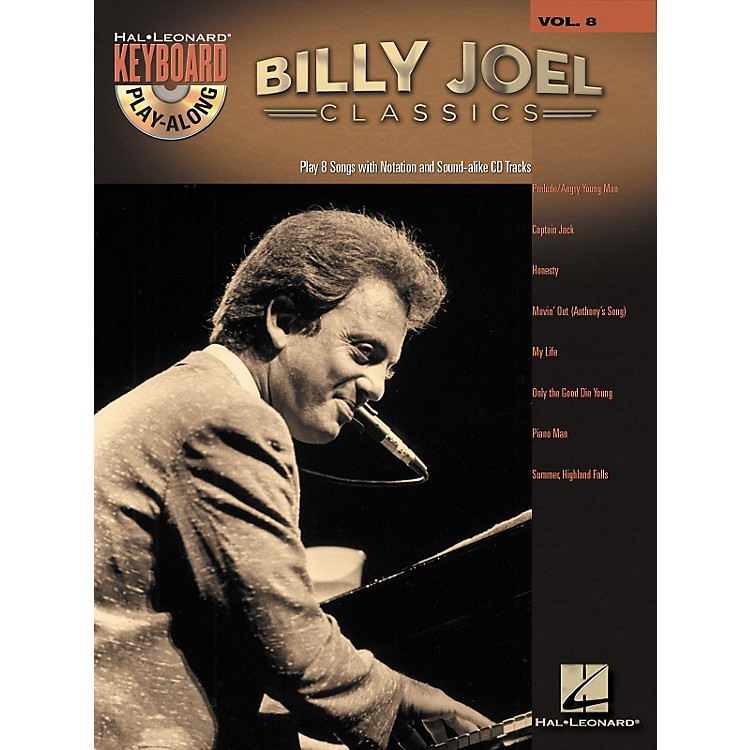 Hal LeonardBilly Joel Classics - Keyboard Play-Along, Volume 8 (Book/CD)