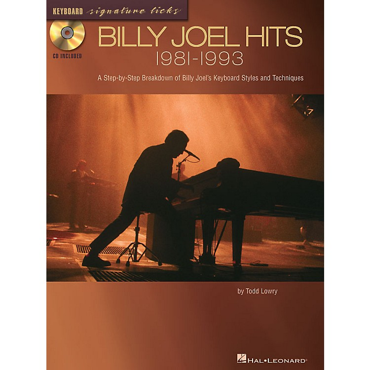 Hal LeonardBilly Joel Hits: 1981-1993 Signature Licks Guitar Series Softcover with CD Written by Todd Lowry