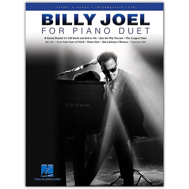 Hal Leonard Billy Joel for Piano Duet - 1 Piano, 4 Hands / Intermediate Level