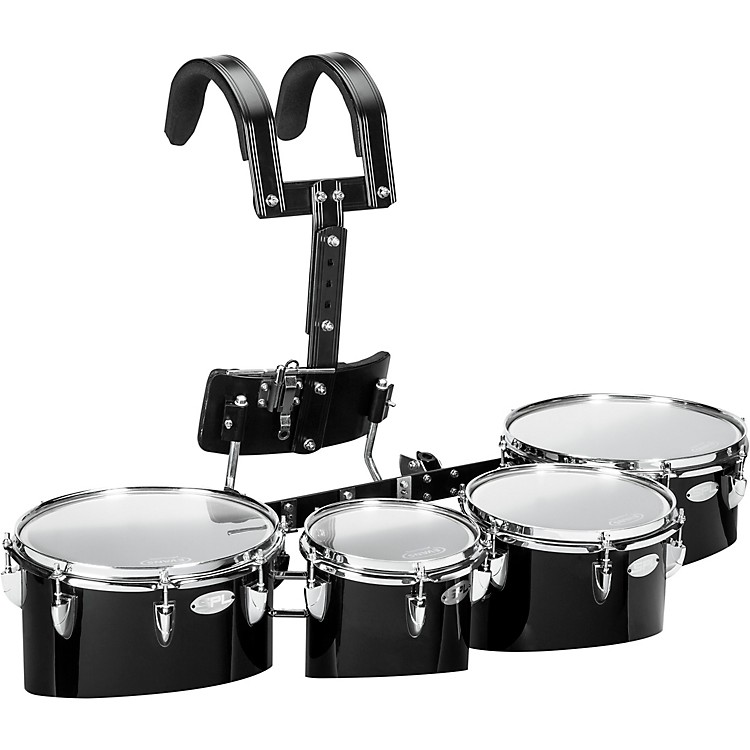 Sound Percussion LabsBirch Marching Quads with Carrier 8/10/12/13White