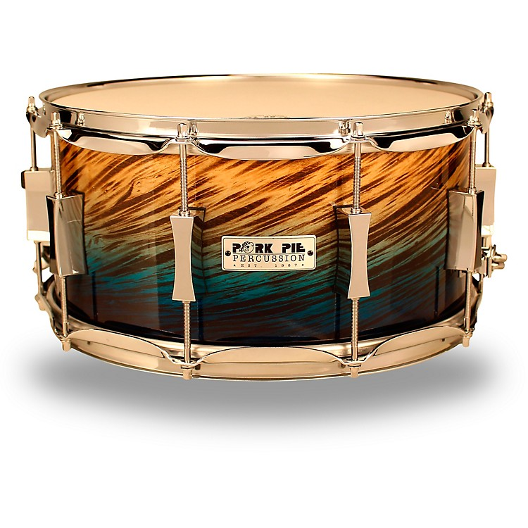Pork Pie Birch Snare Drum 14 x 7 in. Blue Fade Dip