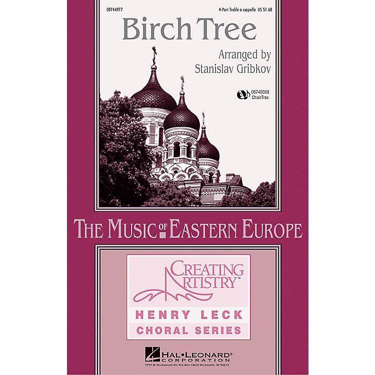 Hal LeonardBirch Tree CHOIRTRAX CD Arranged by Stanislav Gribkov