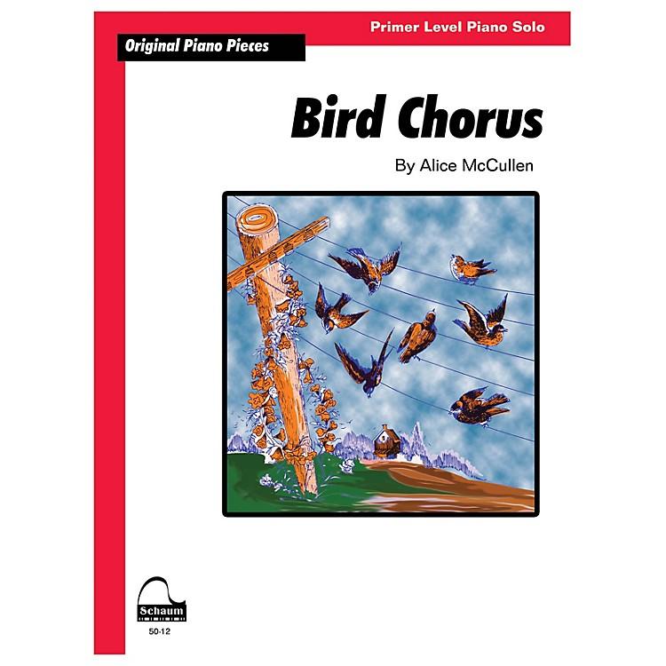 SCHAUMBird Chorus Educational Piano Series Softcover