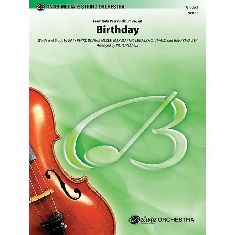AlfredBirthday String Orchestra Grade 2