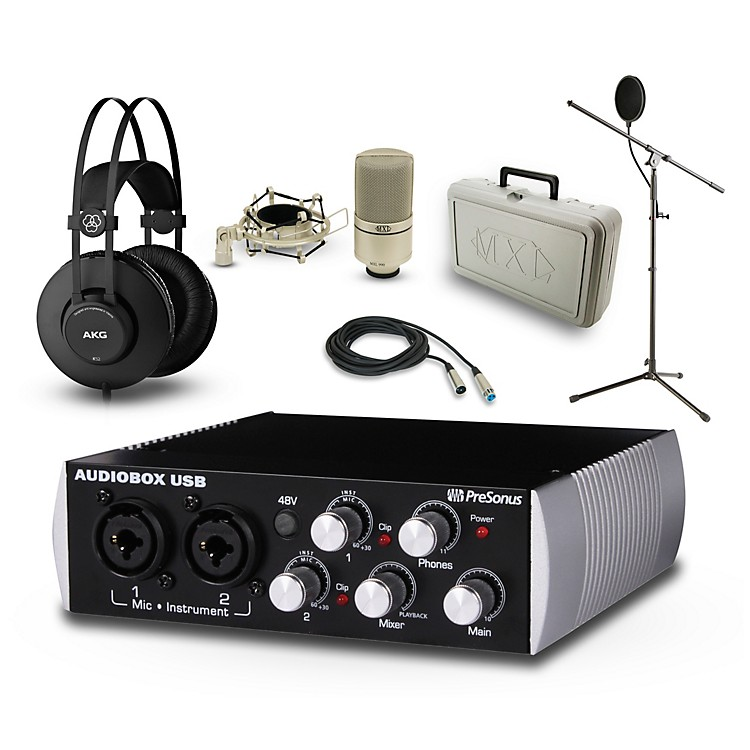 PreSonusBlack Audiobox, K52 and 990 Package
