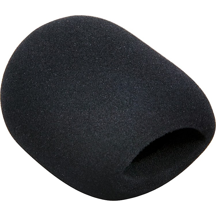 Tour Grade Black Ball End Microphone Wind Screen