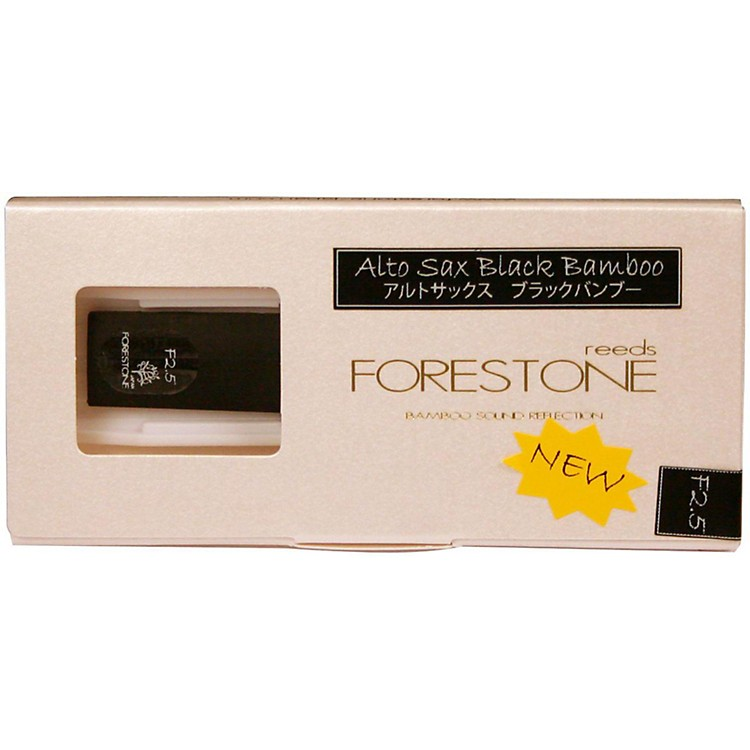 Forestone Black Bamboo Alto Saxophone Reed Strength 2