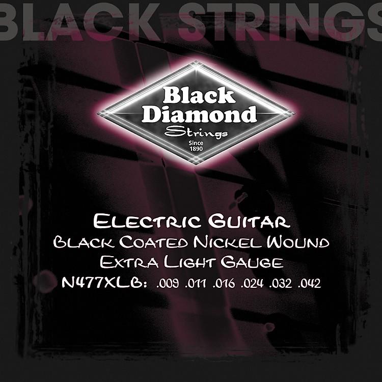 Black DiamondBlack Coated Nickel Electric Guitar Strings