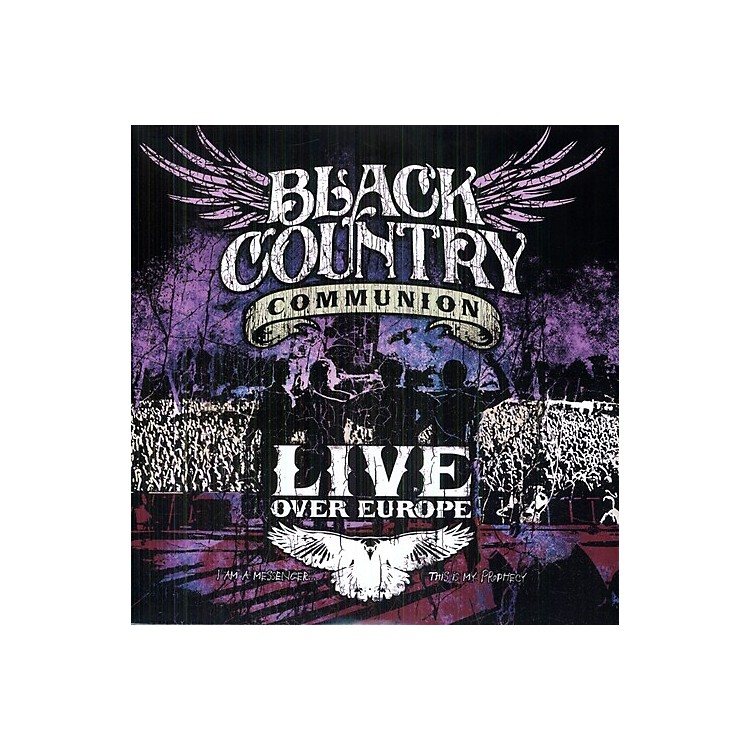 Alliance Black Country Communion - Live Over Europe