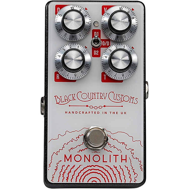 LaneyBlack Country Customs Monolith Distortion Effects Pedal