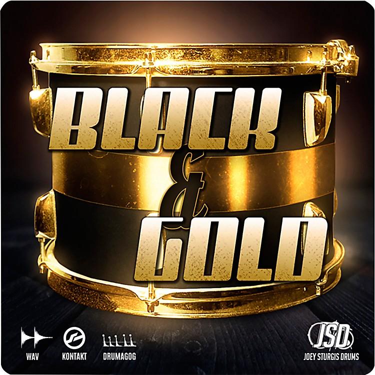 Joey Sturgis DrumsBlack & Gold Drums