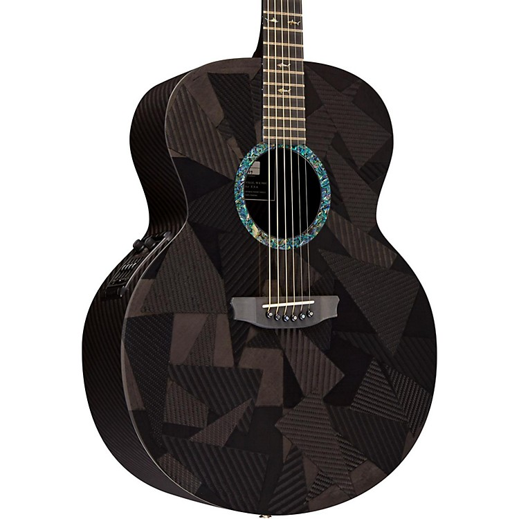 RainSong Black Ice Series BIJM1000N2 Graphite Acoustic-Electric Guitar