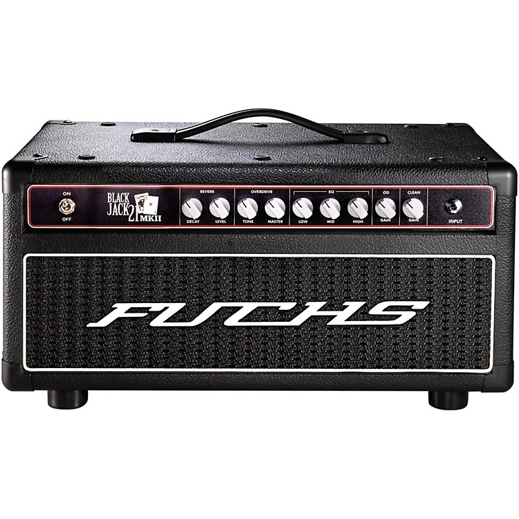 fuchs black jack 21w tube guitar head and 4 button artist footswitch kit music123. Black Bedroom Furniture Sets. Home Design Ideas