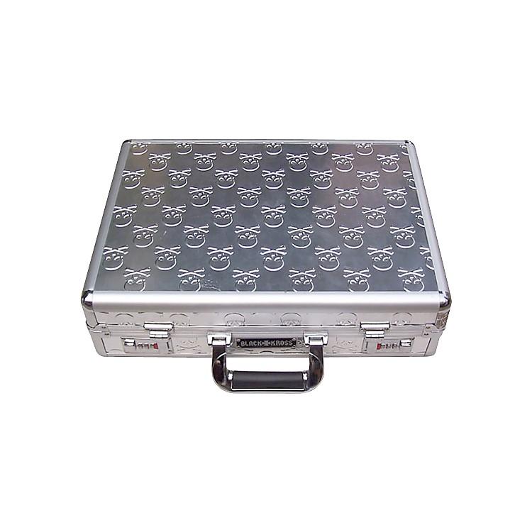 Coffin CaseBlack Kross Skull-Plated Briefcase