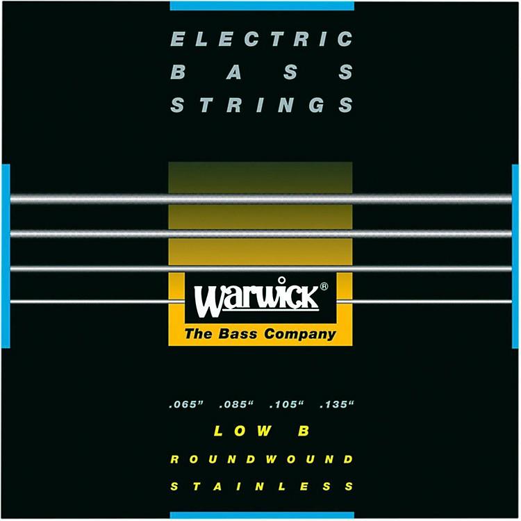 WarwickBlack Label 4-String Low B Nickel Bass Strings