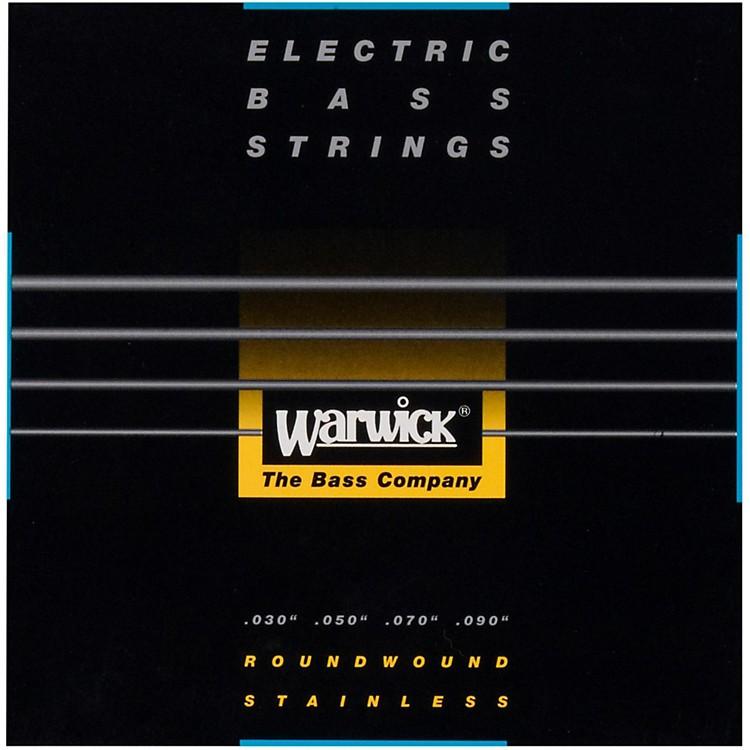 WarwickBlack Label 4-String XL Nickel Bass Strings