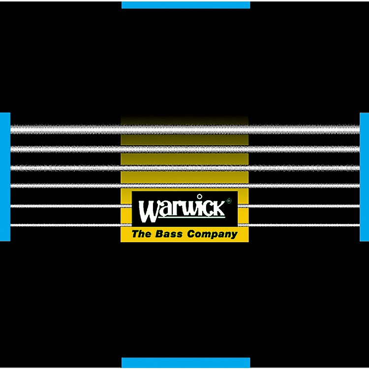 Warwick Black Label Stainless Medium 6-String Bass Strings