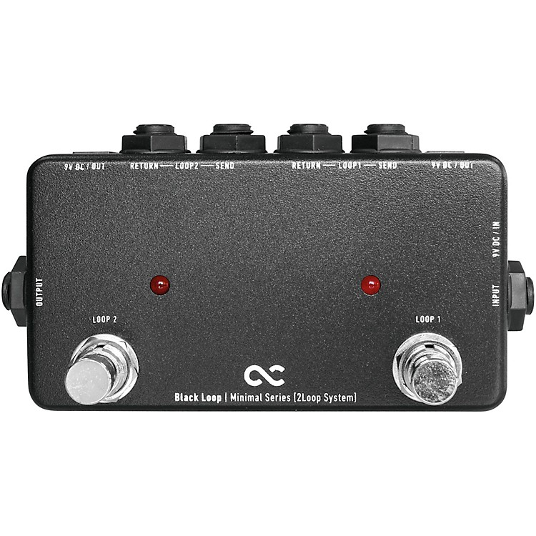 One ControlBlack Loop 2-Channel Loop Switcher
