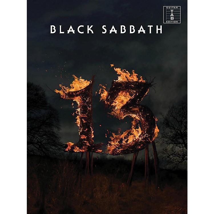 Music SalesBlack Sabbath - 13 Guitar Tab Songbook