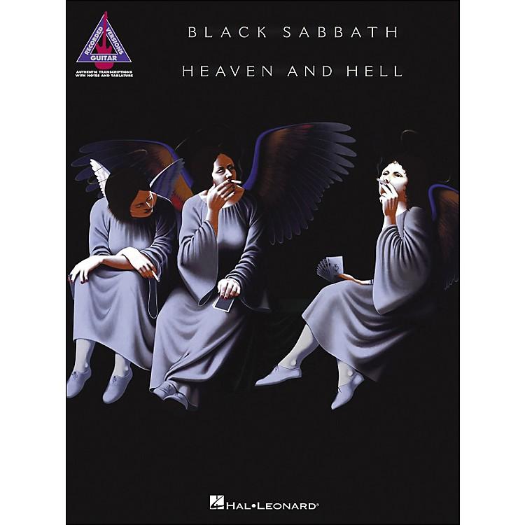 Hal LeonardBlack Sabbath - Heaven And Hell Tab Book
