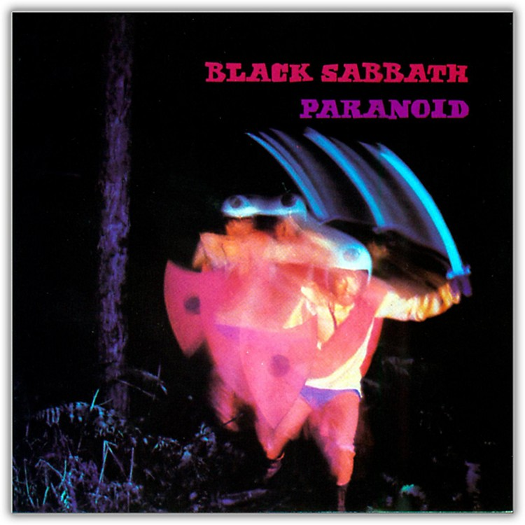 WEABlack Sabbath - Paranoid Vinyl LP