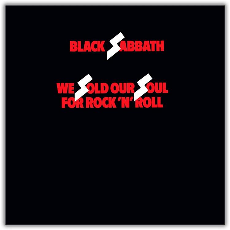 WEABlack Sabbath - We Sold Our Soul for Rock 'N' Roll Vinyl LP