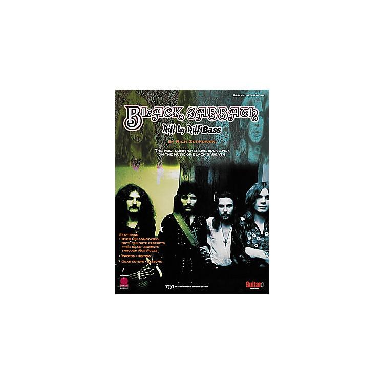 Cherry LaneBlack Sabbath Riff by Riff Bass Guitar Tab Songbook
