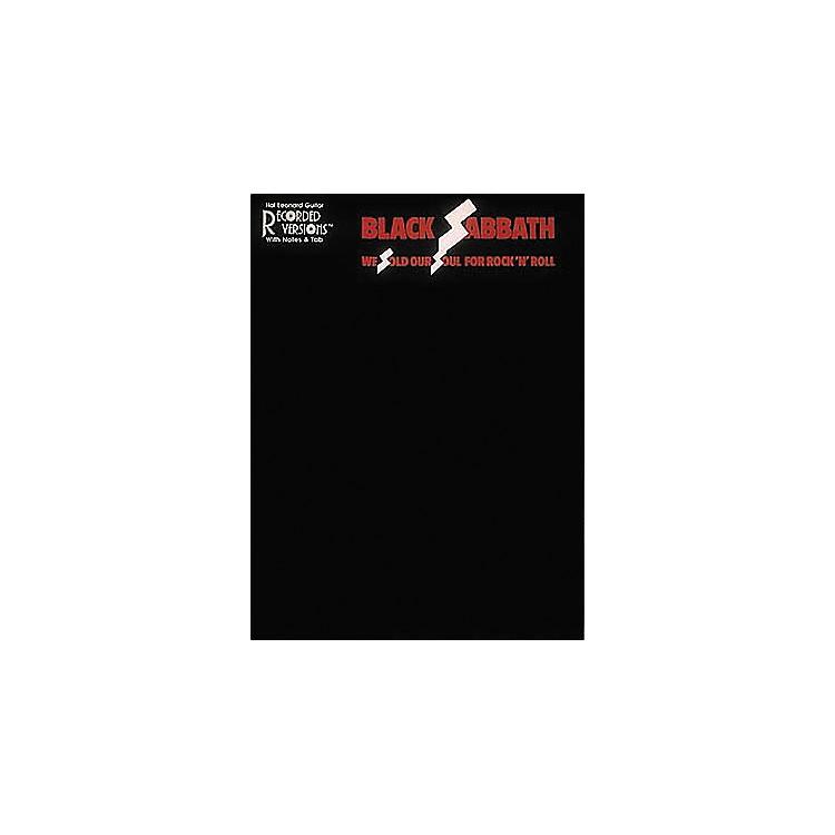Hal LeonardBlack Sabbath We Sold Our Soul for Rock 'n' Roll Guitar Tab Book
