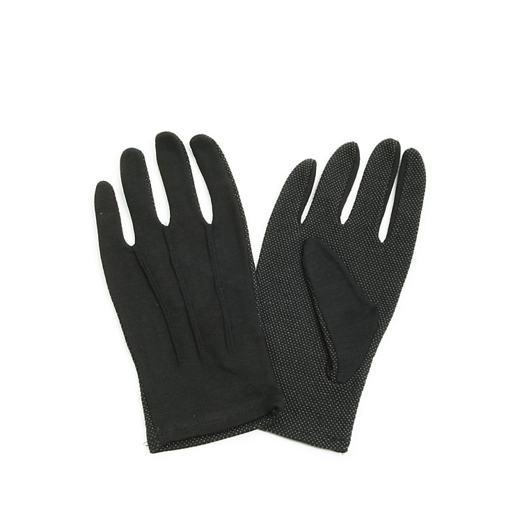 Director's Showcase Black Sure Grip Gloves Medium