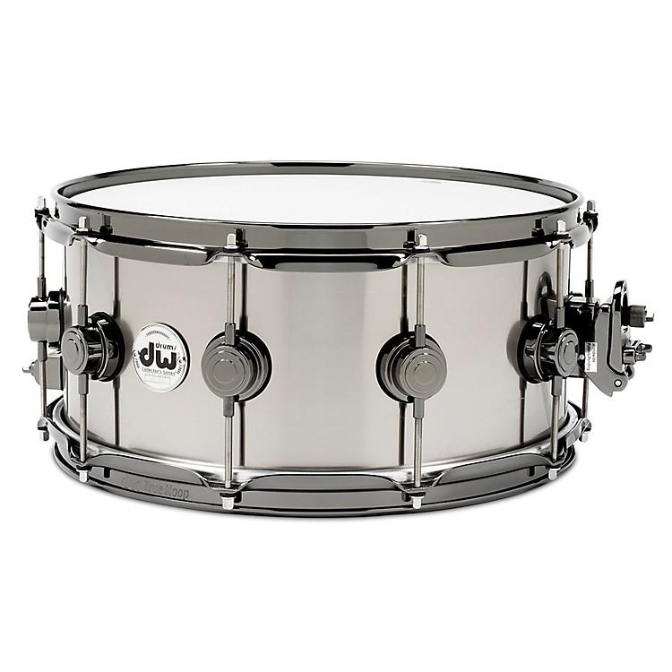 DWBlack-Ti Snare Drum14 x 6.5 in.Black Nickel Hardware