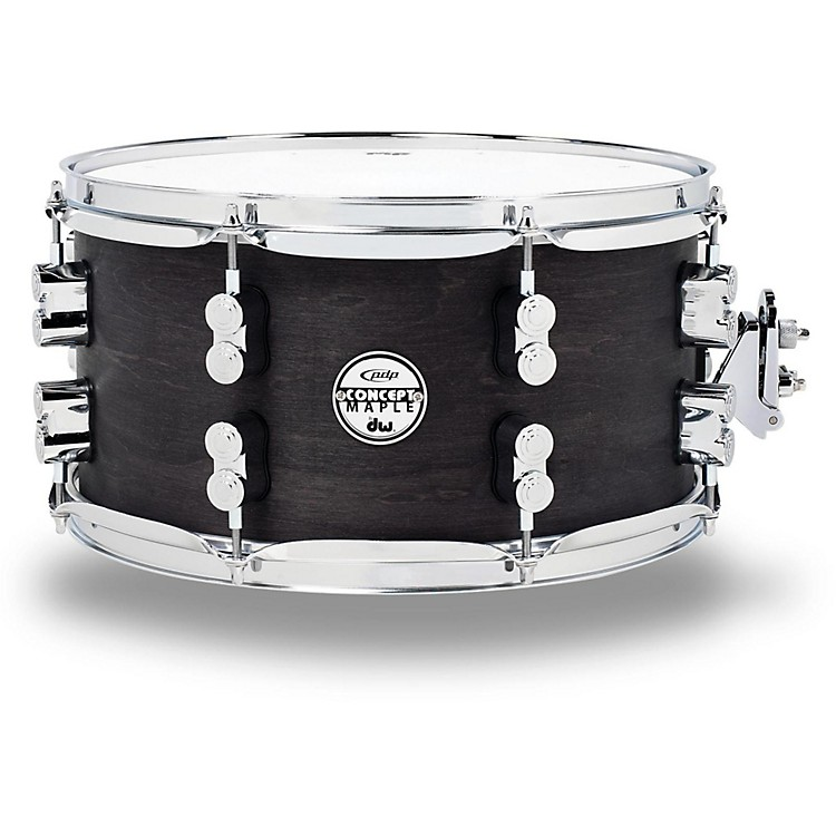 PDP by DW Black Wax Maple Snare Drum 13x7 Inch