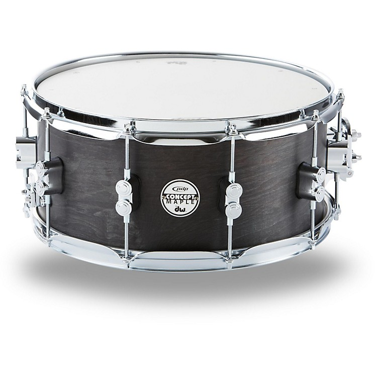 PDP by DW Black Wax Maple Snare Drum 10x6 Inch