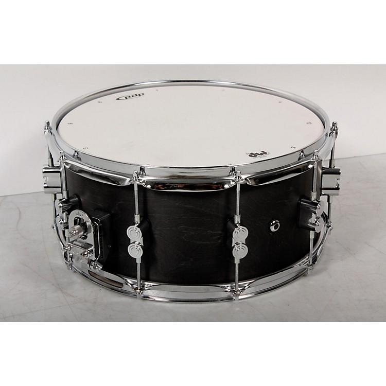 PDP Black Wax Maple Snare Drum 14x6.5 Inch 888365848587