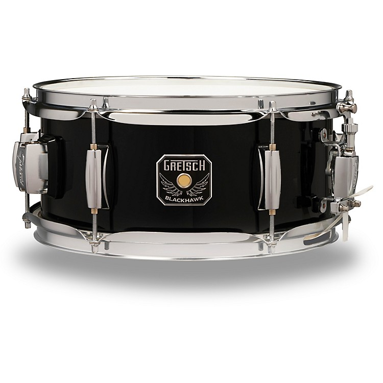 Gretsch DrumsBlackhawk Snare with 12.7 mm Mount12 x 5.5 in.Black