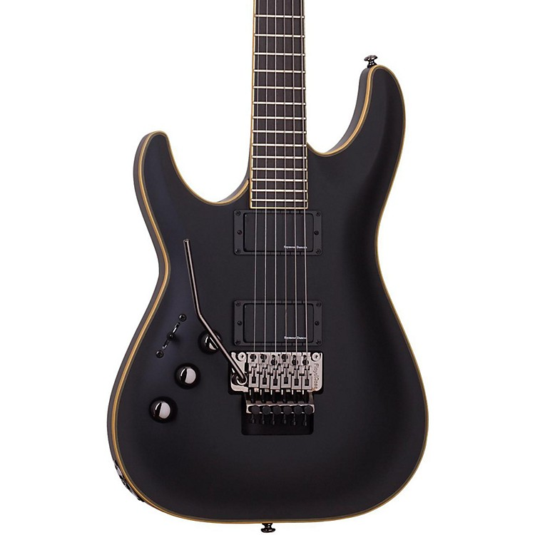 Schecter Guitar ResearchBlackjack ATX C-1 Left Handed Electric Guitar with Floyd Rose