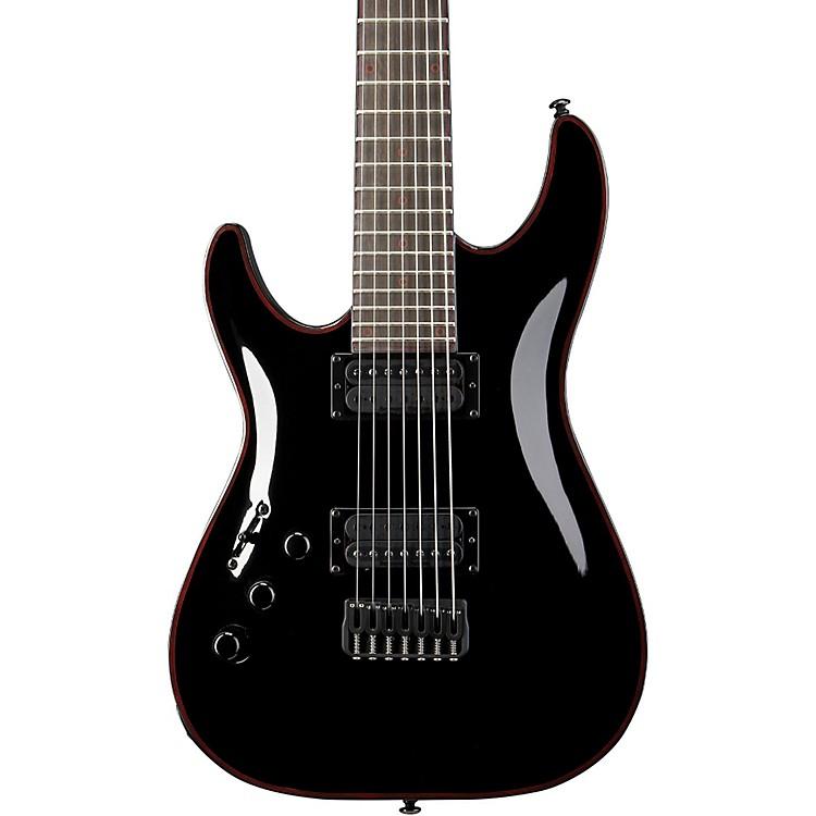 Schecter Guitar ResearchBlackjack C-7 Left Handed Electric GuitarBlack888365586564