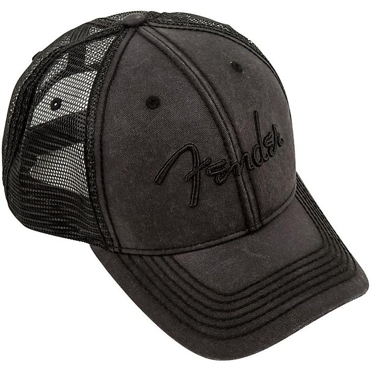 FenderBlackout Trucker Hat