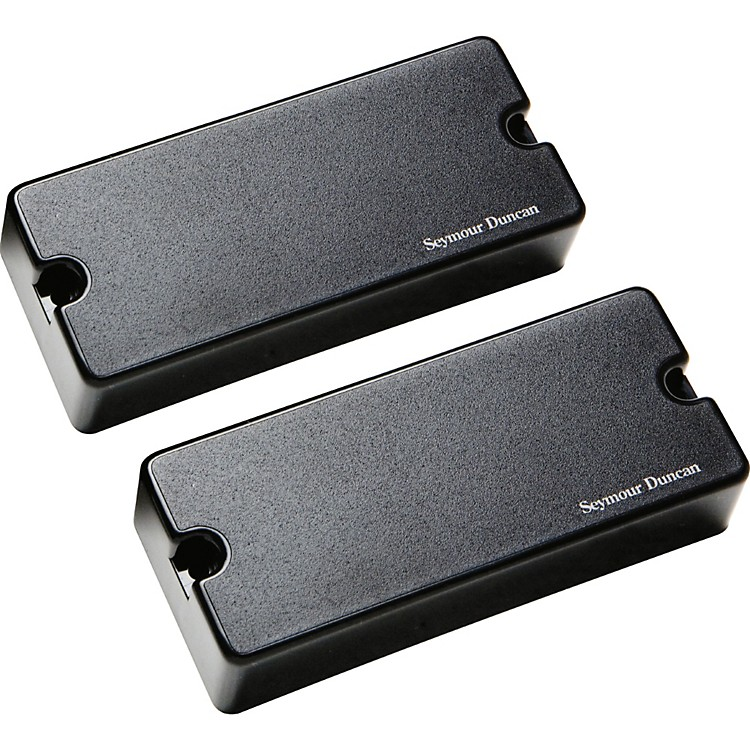 Seymour Duncan Blackouts AHB-1s 7-String Phase II Active Humbucker neck & bridge set Black