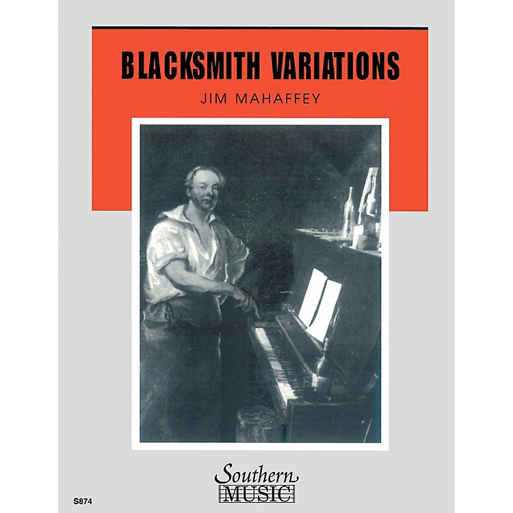 SouthernBlacksmith Variations Concert Band Level 3 Composed by Jared Spears