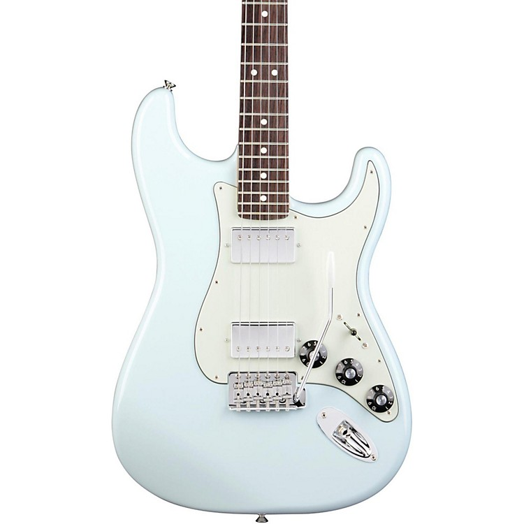 FenderBlacktop Stratocaster HH with Rosewood Fretboard Electric GuitarSonic BlueRosewood